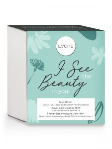 EVOHE natural Skin Care I See the Beauty in You pack