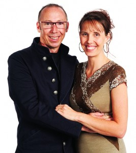 Baz and Meg Forrester - Co-Founders of EVOHE