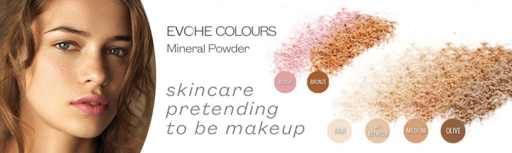 EVOHE Colours Mineral Powder