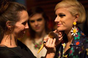 evohe natural skin care make up mercedes benz fashion week