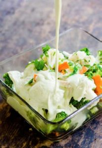 leek sauce with steamed vegetables chef cynthia louise recipe