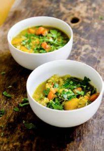 lentil dahl soup recipe chef cynthia louise