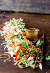 asian salad recipe chef cynthia louise