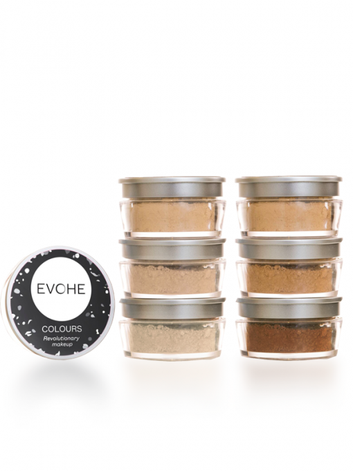 EVOHE Colours Mineral Make Up, Vegan Make Up
