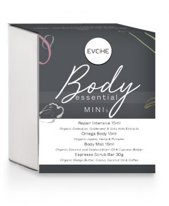 EVOHE body skin care essentials minis