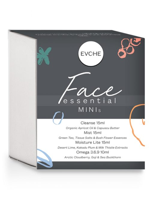 EVOHE face skin care essentials minis