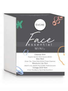 EVOHE Face Essentials MINIs, Face Skin Care Essentials